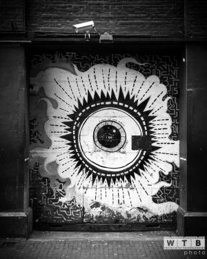 amsterdam door eye street art 2014